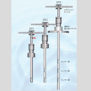 挿入式超音波流量計ULSONA-DT1~3